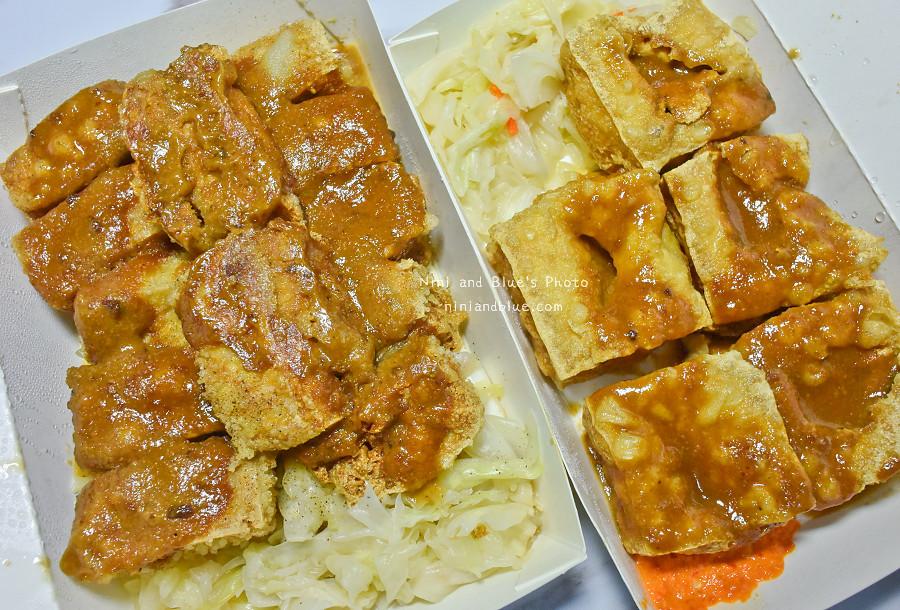台中素食臭豆腐向上黃昏菜市場美食03
