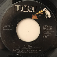 DARYL HALL & JOHN OATES:KISS ON MY LIST(LABEL SIDE-B)