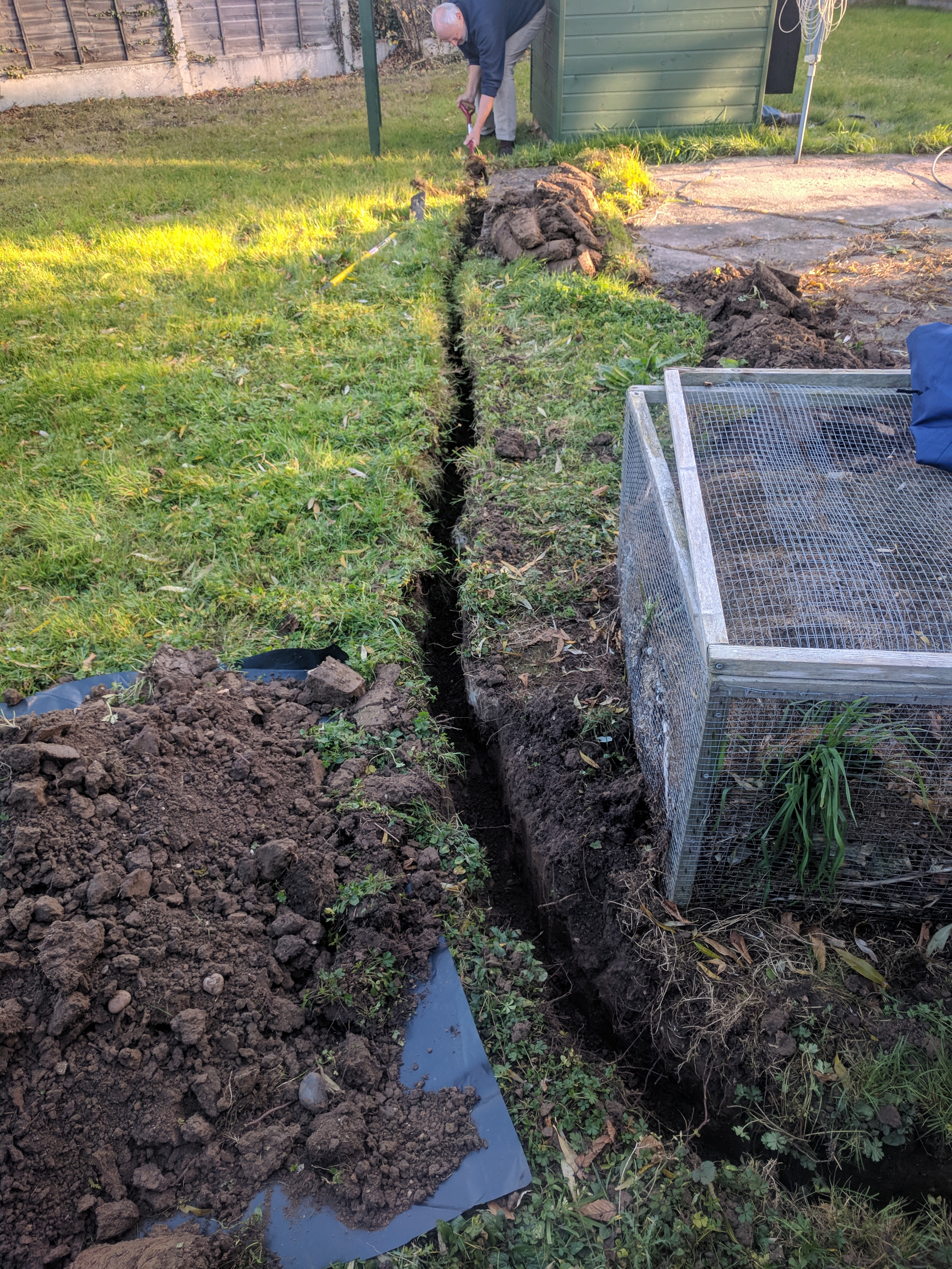 Trench for Power Cable