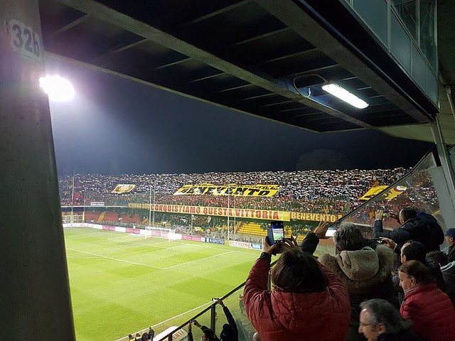Benevento - Home supporters
