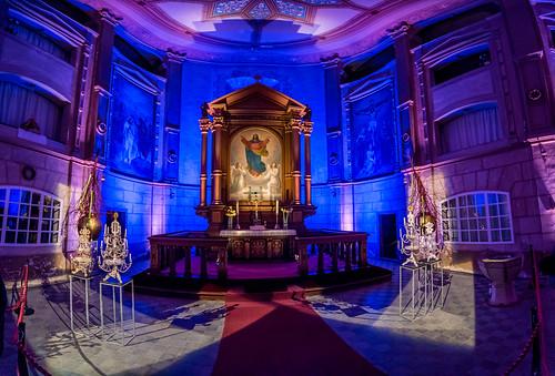 Altar der Cunewälder Kirche