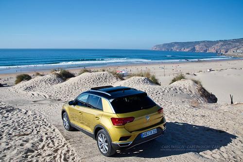 Essai du VW T-Roc au Portugal