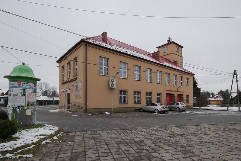 Firestation OSP Podolsze, Lesser Poland, 05.12.2017