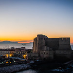 Castel dell'Ovo all'alba (Egg castle at sunshine)