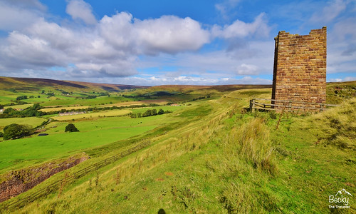 Hiking UK - a day hike at North York Moors - Rosedale Railway, UK