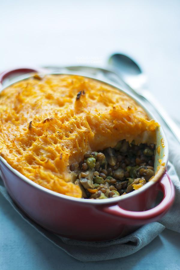 Shepherd's Pie vegetariana ricetta