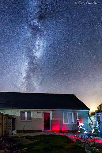 Backyard Astronomy - Milky Way, Embleton, Northumberland