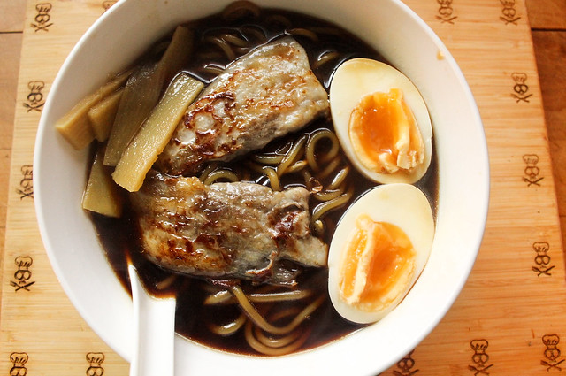 Homemade Shoyu Ramen Made In The Pressure Cooker