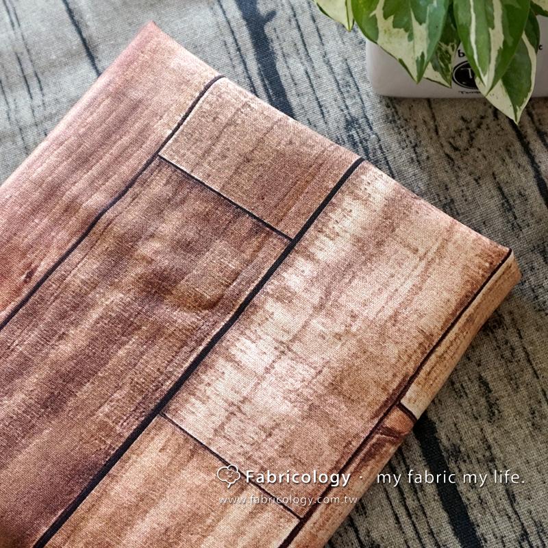 布學盒裝印花布(3尺)木紋 手工藝DIy拼布布料 SW001709-7