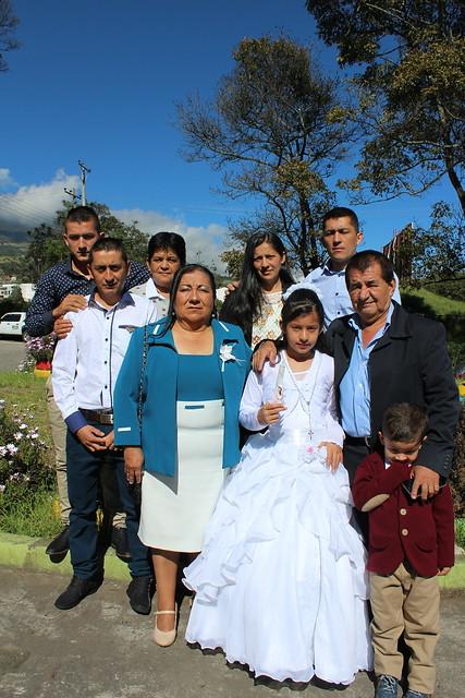 Primera comunión con hijos de estudiantes y colaboradores de UNIMINUTO