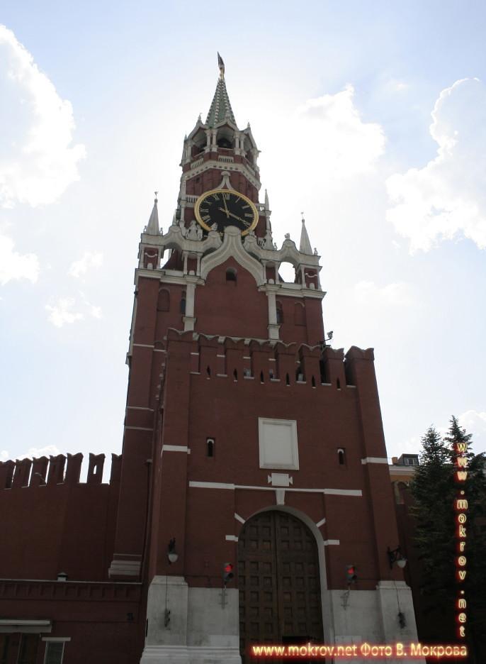 Фото Спасская башня в Москве
