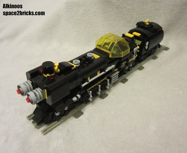 space train Blacktron p7