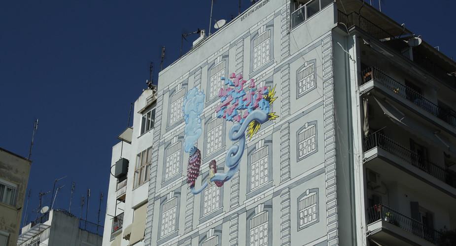 Wat te doen in Thessaloniki, Griekenland: street art | Mooistestedentrips.nl