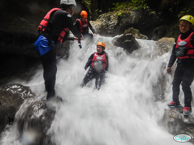 Patty Villegas - The Lifestyle Wanderer - Canyoneering - Badian - Cebu - Cyan Adventures-5
