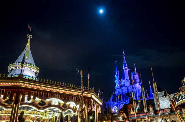 Carousel castle moon MK