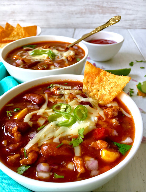 Chicken Chilly Bean Soup 4