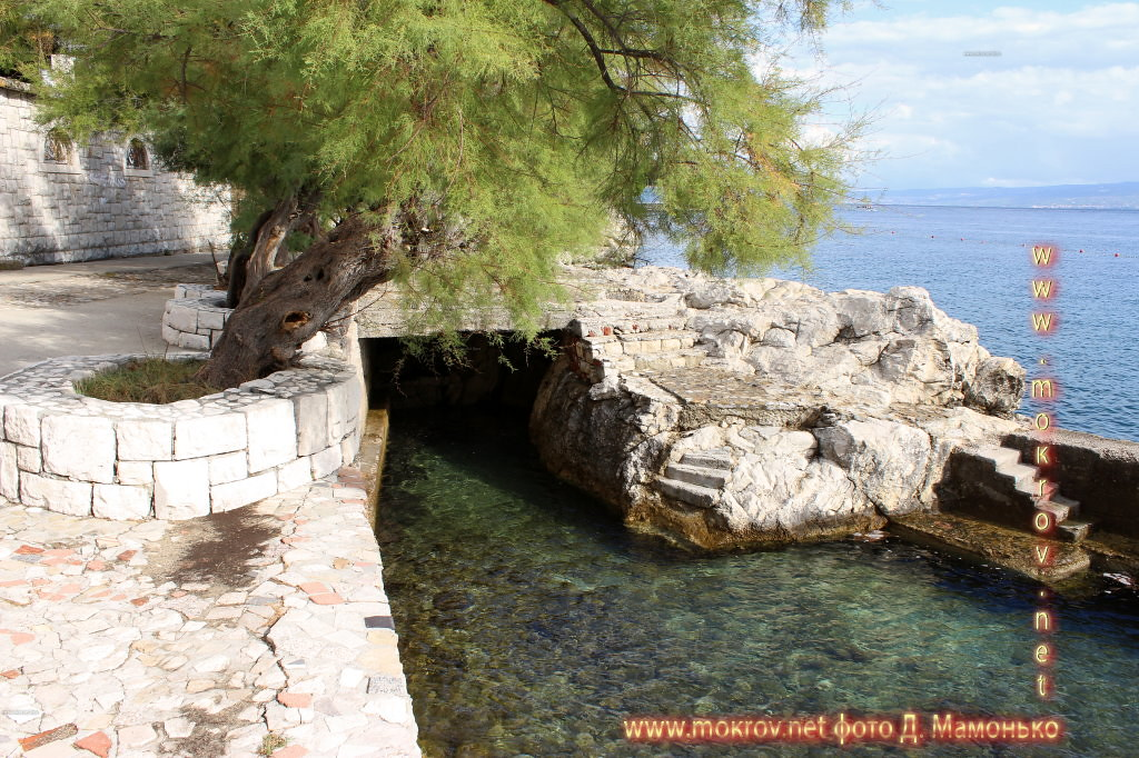 Исторический центр Сплит — город в Хорватии фотографии