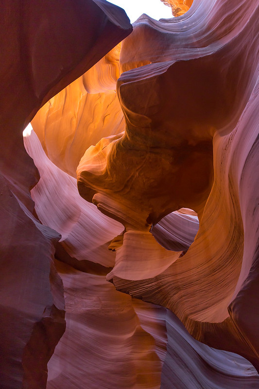 Arizona. Lower Antelope Canyon