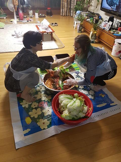 Creating kimchi 3