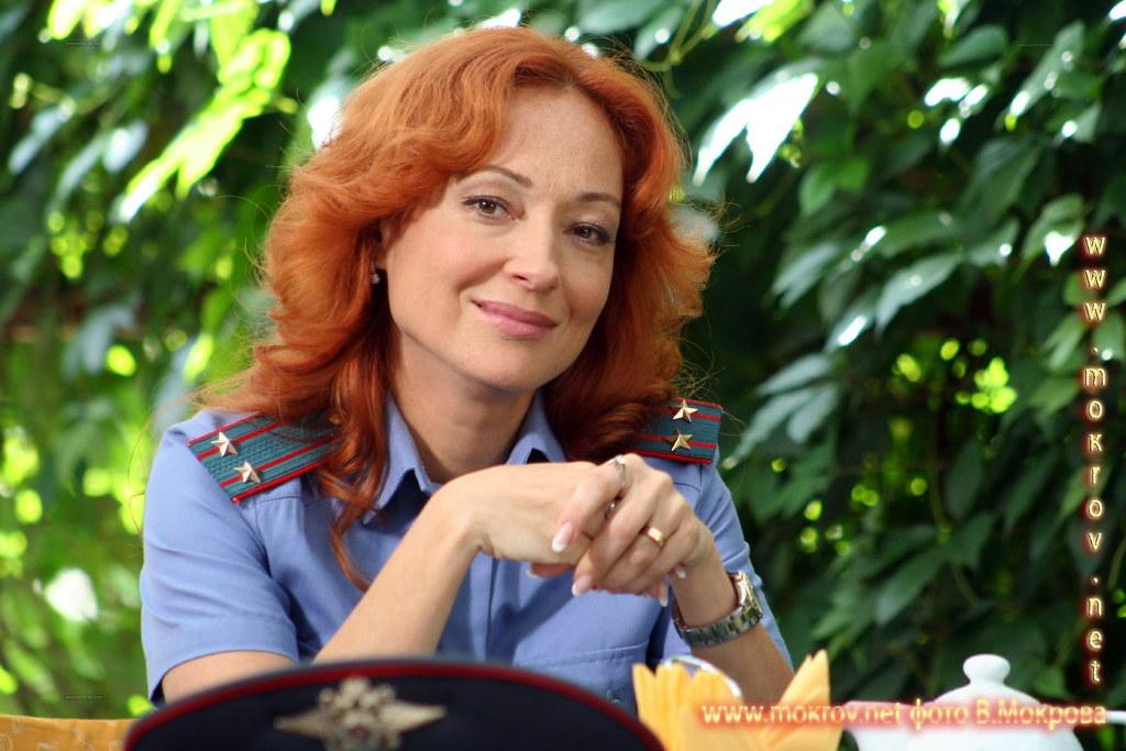 Актриса - Виктория Тарасова в сериале Пятницкий ОВД.