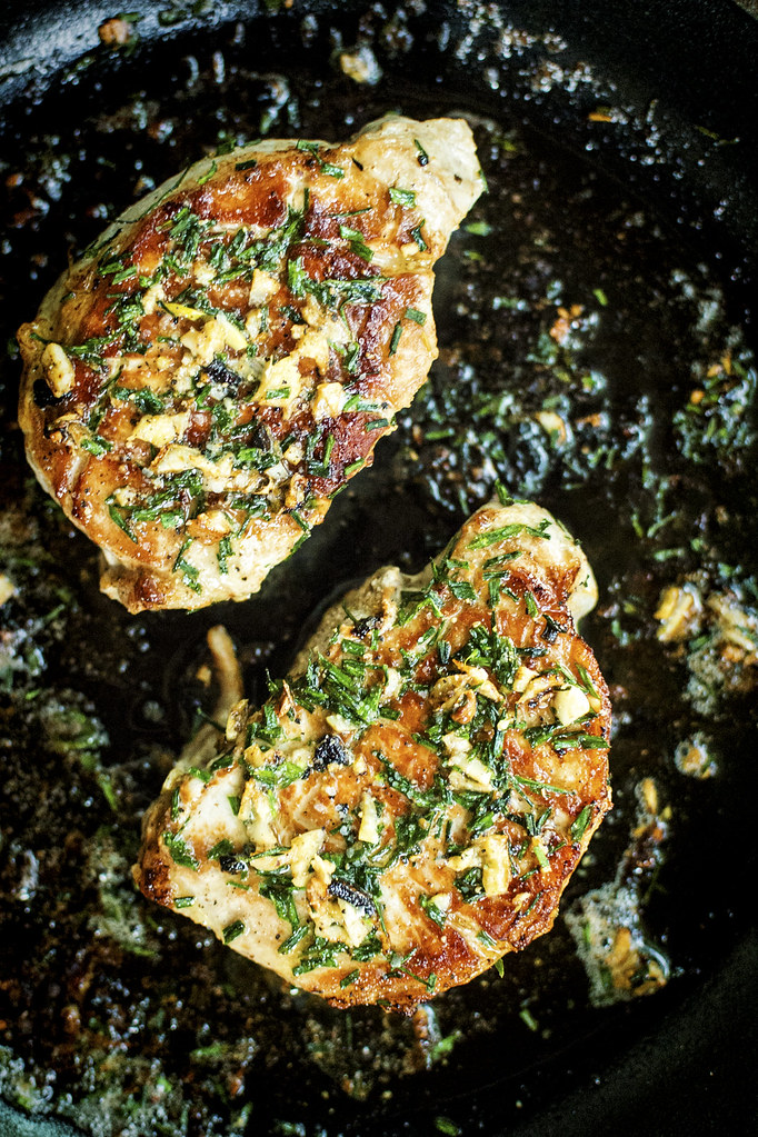 Pan Seared Thick Cut Pork Chops by GirlCarnivore (8 of 8)