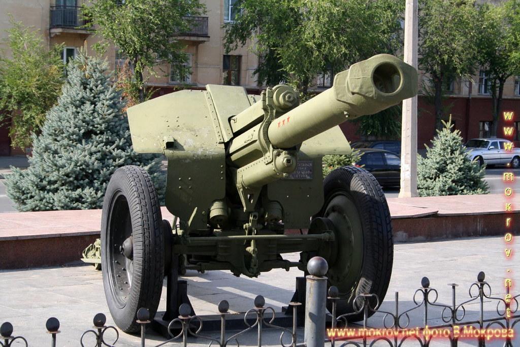 152-мм гаубица пушка Д1 образца 1943 г.