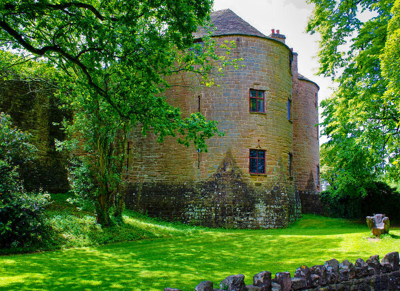 St Briavels Castle, Gloucestershire. Credit Thomas Tolkien