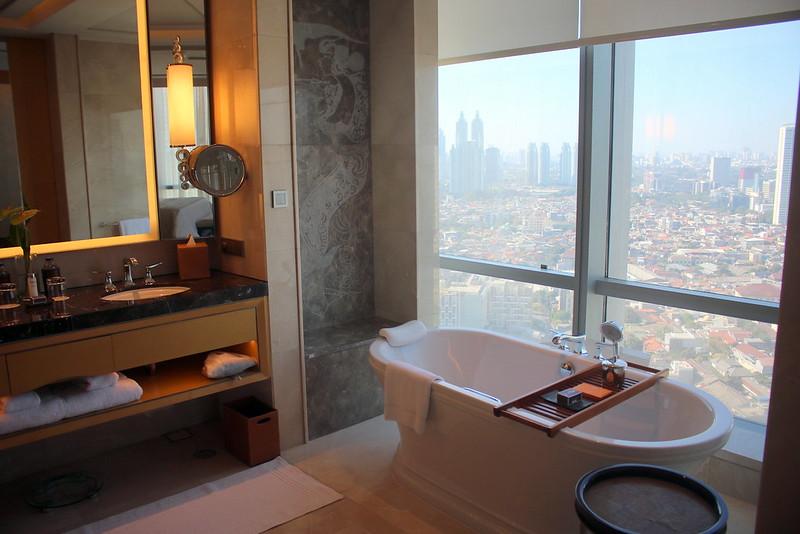 Bathroom at Raffles Jakarta