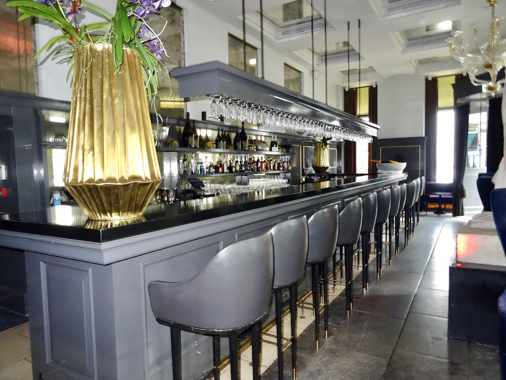 Balthazar Champagne Bar at Hotel D'Angleterre