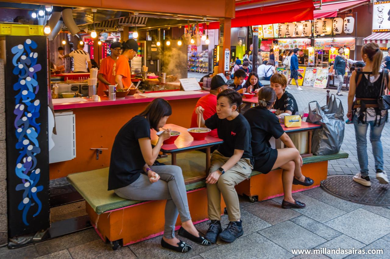 Kinryu Ramen en Dōtonbori, Osaka