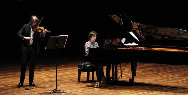 """VIII FESTIVAL INTERNACIONAL DE MÚSICA DE CÁMARA """"FUNDACIÓN MONTELEÓN"""" - CONCIERTO INAUGURAL - DANIEL ROWLAND, VIOLIN & NATACHA KUDRITSKAYA, PIANO - AUDITORIO CIUDAD DE LEÓN 6.12.17"""