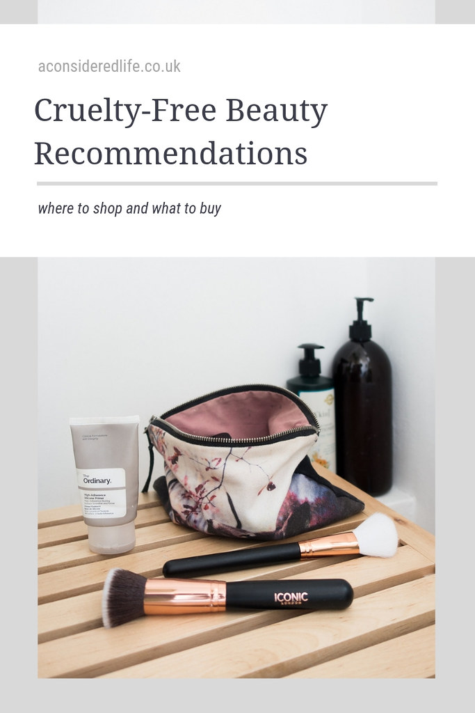 Cruelty Free Vegan Beauty Recommendations