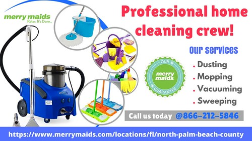 Maid Service for House Cleaning in Jupiter