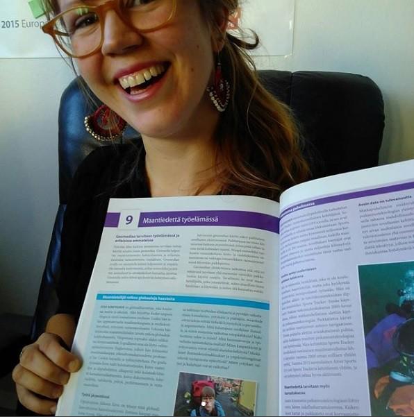 Eevan Kuilut umpeen -blogi, maailmankaupan tutkimus ja Eettisen kaupan puolesta ry esitellään GEOS-oppikirjasarjan 4. osassa