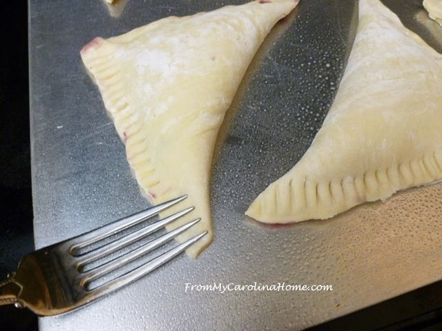 Easy Blueberry Turnovers at From My Carolina Home