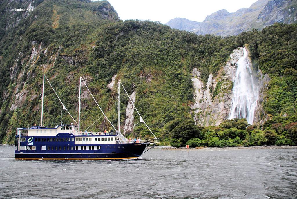 Risteilyalus, Milford Sound, Uusi-Seelanti