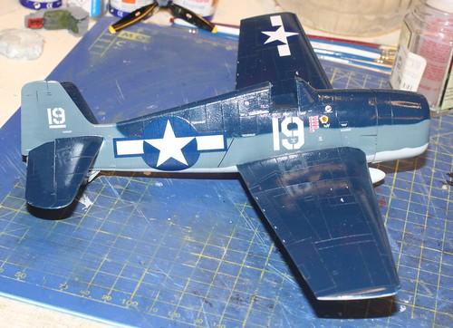 """Grumman F6F-3 Hellcat, """"Vit 19 Vraciu"""", Eduard 1/48 - Sida 3 24319498248_9ce72427ce"""