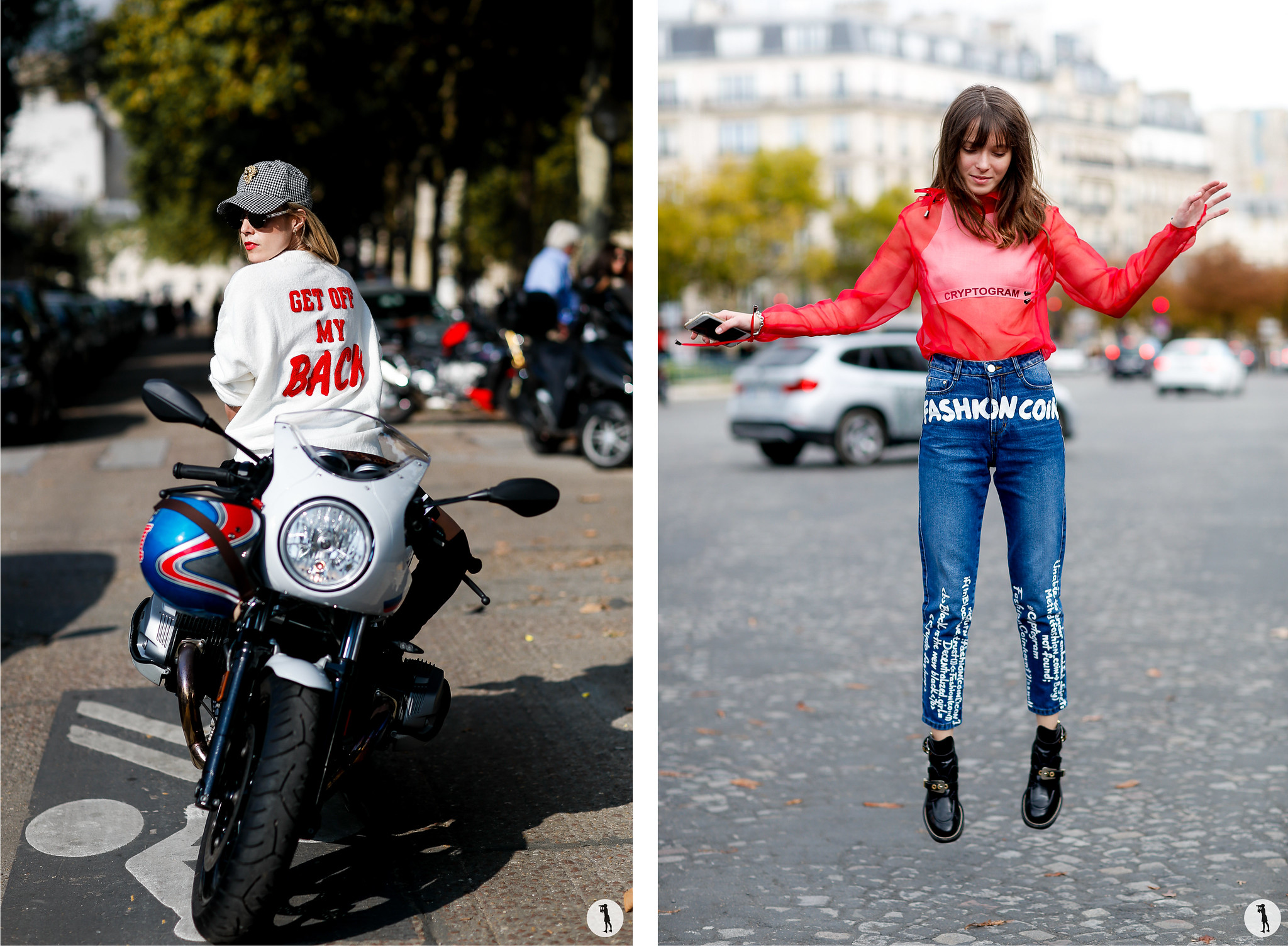 Guest and Anna K - Paris Fashion Week SS18