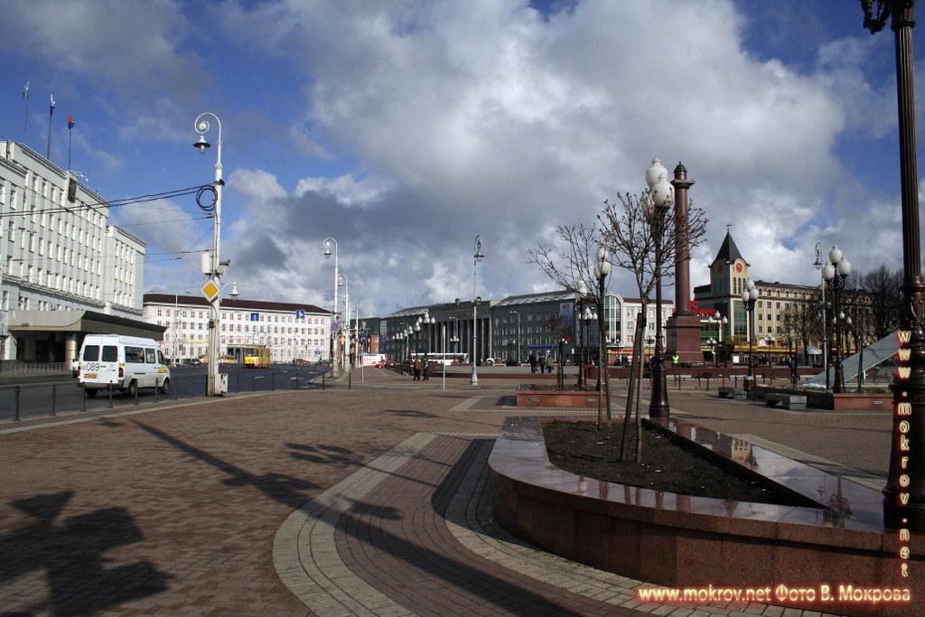 Центральная площадь в Калининграде.  фото