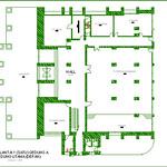 Denah Lantai 1 (satu) Gedung A Gedung Utama (Depan)
