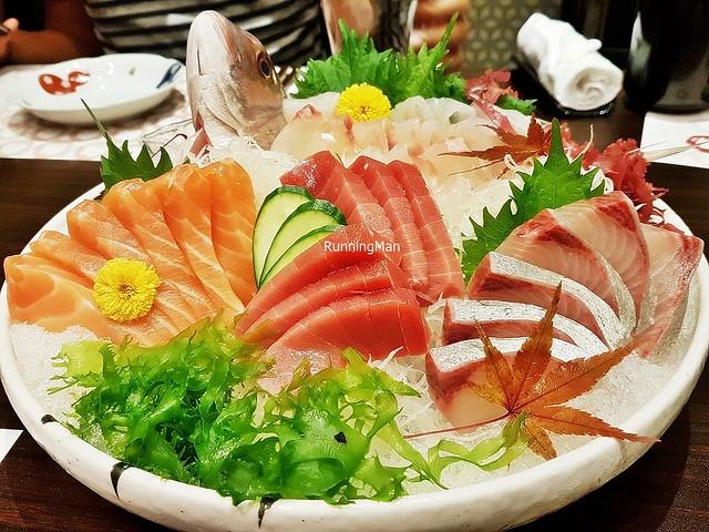 Sashimi Mori - Maguro, Shake, Kanpachi, Tai
