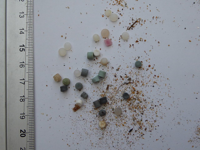 Nurdles etc at Hope Cove