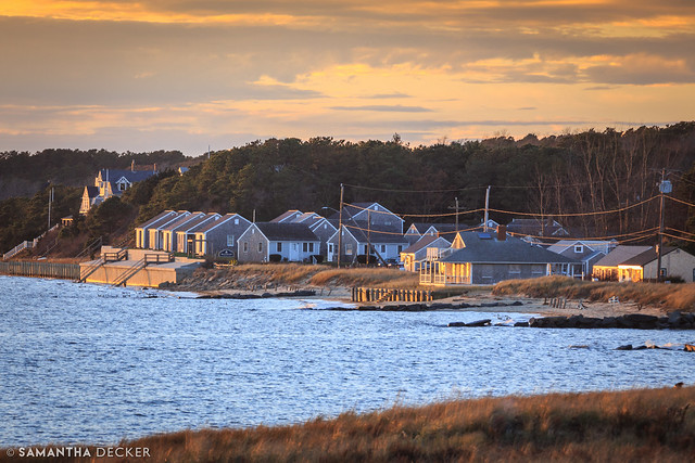 Wellfleet at Sunset