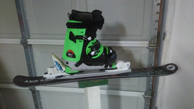 Envy Ski Frame -Soft Boot Solution for release bindings. [Archive ...