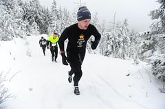 Zima, vítr, sníh. Na Dolní Moravě se běželo zase až do oblak