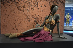 St Petersburg, FL - Museum of Fine Arts - Star Wars and the Power of Costume - Princess Leia's Slave Bikini
