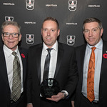 Deano Morley Coach of the Year (Nov 8, 2017 Snucins)