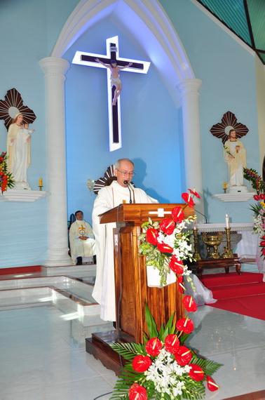 Bài giảng thánh lễ thành lập giáo họ biệt lập Hòa Mục