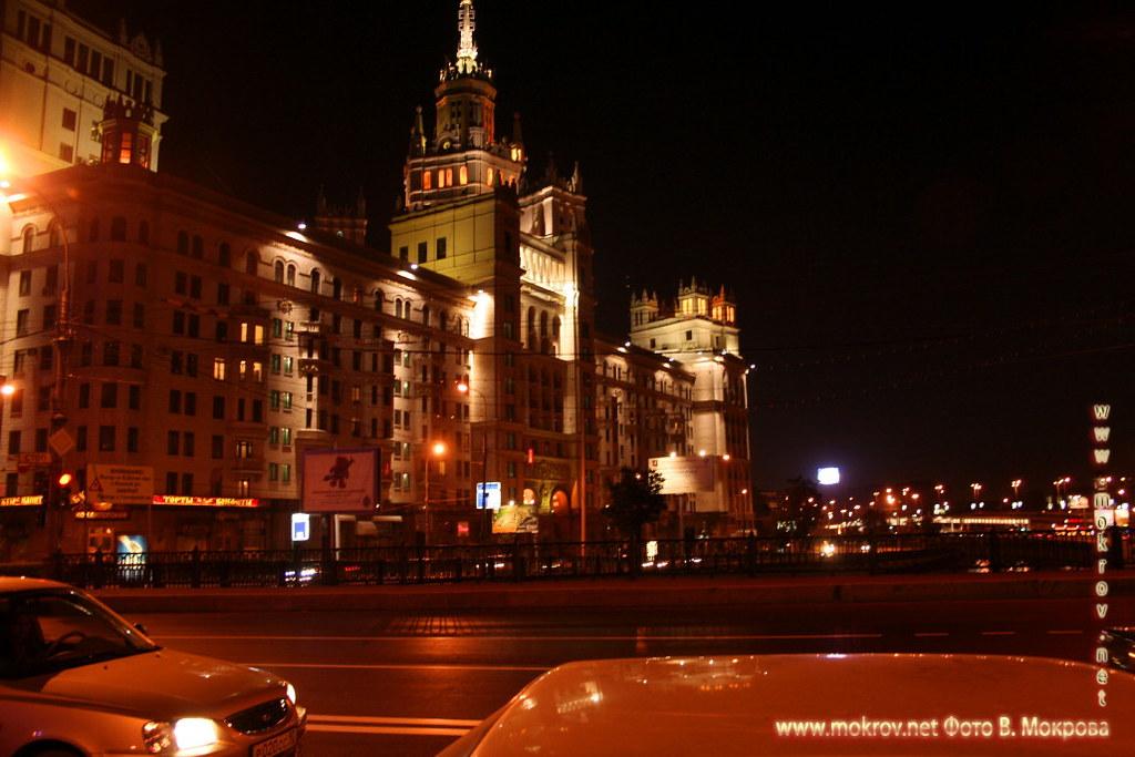 Жилой дом на Котельнической набережной в Москве.