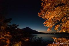 山中湖「夕焼けの渚・紅葉まつり」は明日までですよ